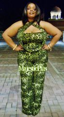Convertible Cheetah Print Goddess Jumpsuit