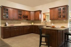 Chestnut Chocolate Kitchen Cabinets (Call or Email for Pricing! )