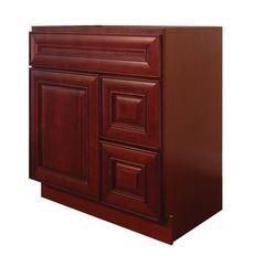 Maple Cherry Vanity Cabinet MC-3021DR