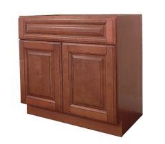 Maple Mocha Vanity Cabinet MM-2421