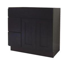 Beech Espresso Vanity Cabinet BE-3621DL