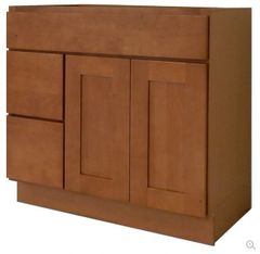 Honey Shaker Vanity Cabinet HS-3621DL