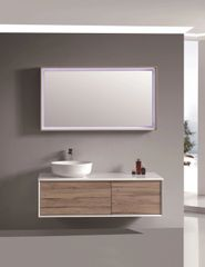 "Woodbridge Collection 47"" Wall-Mounted Bathroom Vanity Set"