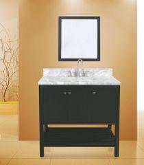 """Hampton Bay Collection Bathroom Vanity Set , 36"""" Silky Black"""