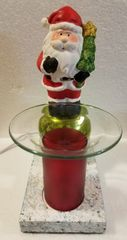 One of a Kind Small Christmas Santa Adjustable Electric Burner