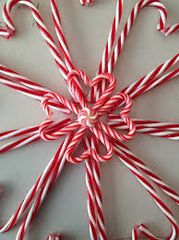 51 Candy Cane Small Spray