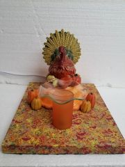 One of a Kind Thanksgiving Turkey Adjustable Electric Burner