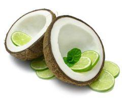 113 Da Lime in Da Coconut Small Spray