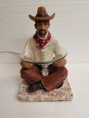 One of a Kind Cowboy Adjustable Electric Burner/Warmer