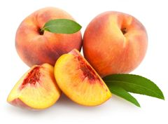 124 Peach Small Spray
