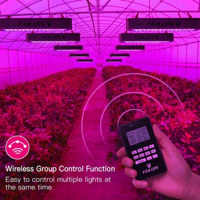 2000W Led Grow Light High PAR HIgh Lumen Led Grow Lamp with Remote Control  Design