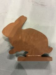 """1/4"""" ar 500 Knock Down Rabbit"""