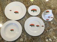 Very Limited Edition Irish Roaming Buffalo 6 piece Set