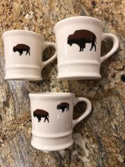 Roaming Buffalo Coffee Mug Old School