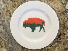 Very Limites Edition Irish Roaming Buffalo Side Plate