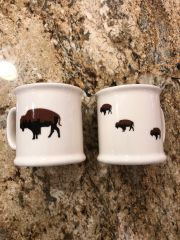 Roaming Buffalo Coffee Mug Modern