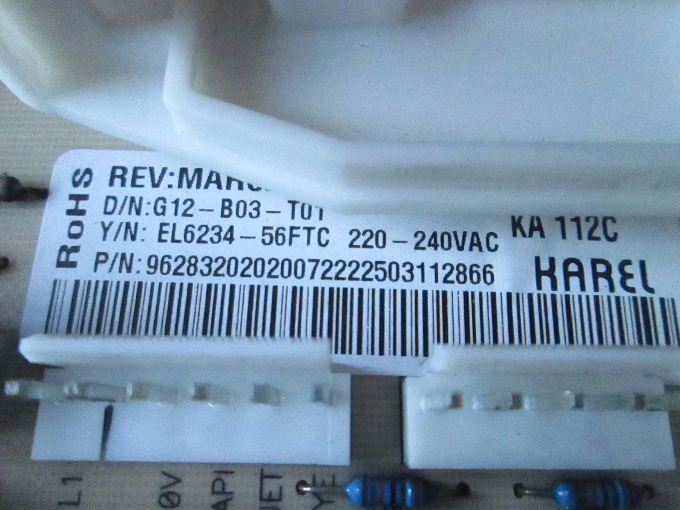 Beko Machine à laver porte Joint WML72S WMP621W WNF6221