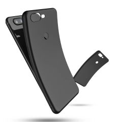 One Plus 5T Back Cover Soft - Black