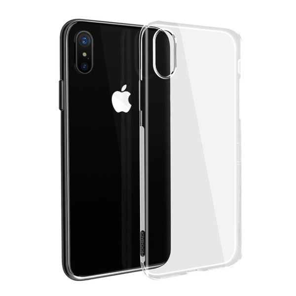 IPhone X Back Cover Soft - Transperent