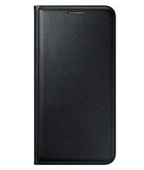 Oppo A57 Flip Cover Black