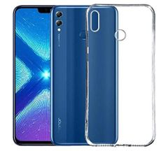 Honor 8X Back Cover Soft - Transparent
