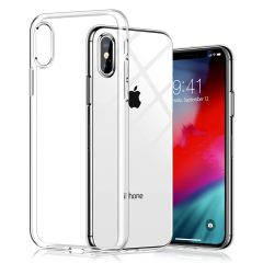 Apple Iphone XS Max Back Cover Soft - Transparent