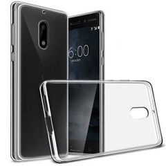 Nokia 3 Back Case Soft - Transparent