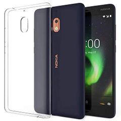 Nokia 3.1 Back Cover Soft - Transparent