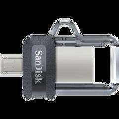 SanDisk Dual Drive USB 3.0 Pen Drive - 64GB