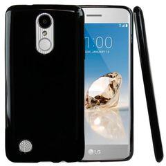 LG K8 2017 Back Cover Soft - Black