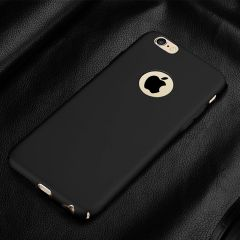 Iphone 6 Plus Back Cover Soft - Black