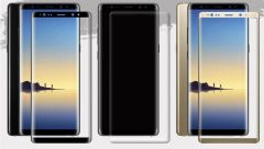 Samsung Galaxy Note 8 Full Tempered Glass