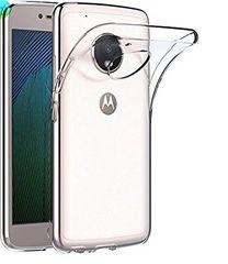 Moto C plus Back Cover Soft - Transparent