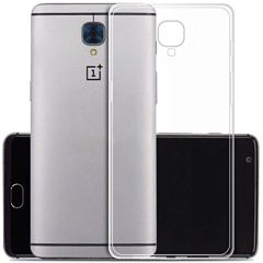 One Plus 3 Back Cover Soft - Transparent