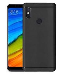 Redmi Note 5 Pro Back Cover Soft - Black