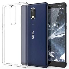 Nokia 5.1 Back Cover Soft - Transparent