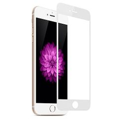 Iphone 6 3D Tempered Full Glass White