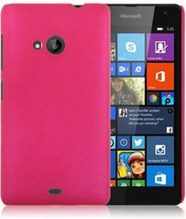 Microsoft Lumia 535 Mobile Back Cover Soft - Pink