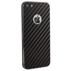 Iphone 5S Back Tempered - Skin Soft Black