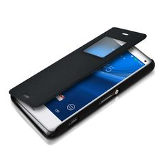 Sony Xperia Z3 Flip Cover Black