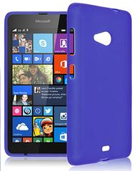 Microsoft Lumia 535 Mobile Back Cover Soft - Blue