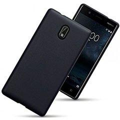 Nokia 3 Back Case Soft - Black