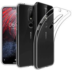 Nokia 5.1 Plus Back Cover Soft - Transparent