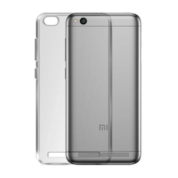 Redmi 5A Back Cover Soft - Transparent