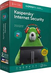 Kaspersky Internet Security Latest Version - 1 PC, 1 Year