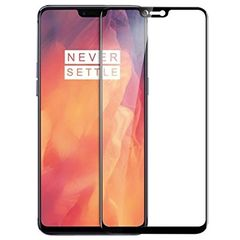OnePlus 6 4D Tempered Glass Screen Protector Black