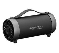 Zebronics Rocket Wireless Portable Bluetooth Speaker with FM & Aux