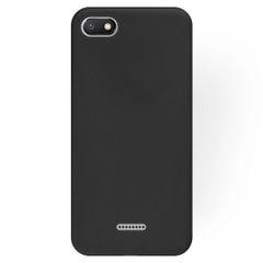 Redmi 6A Back Cover Soft - Black