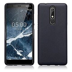 Nokia 5.1 Back Cover Soft - Black
