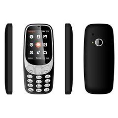 Nokia 3310 Back Case Soft - Black